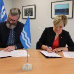 31.10.2017 Sõlmiti Hiiumaa valla koalitsioonileping